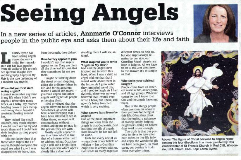 Seeing Angels - The Irish Catholic - Lorna Byrne